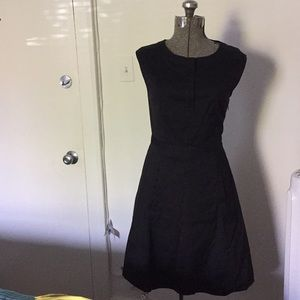 Theory black dress sz 2